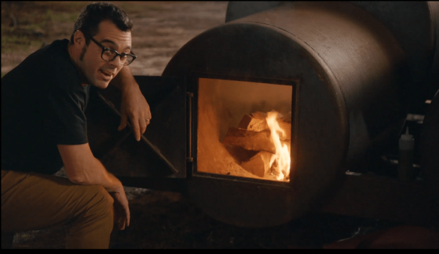 Aaron Franklin Telling Us to Know fire