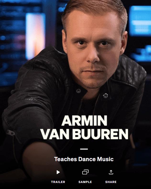 Armin Van Buuren Masterclass