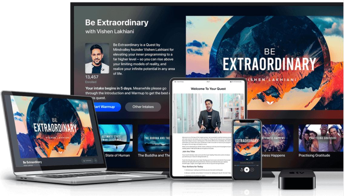 Be-Extraordinary-Course By Vishen Lakhiani