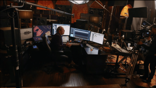 Hans Zimmer With his setup