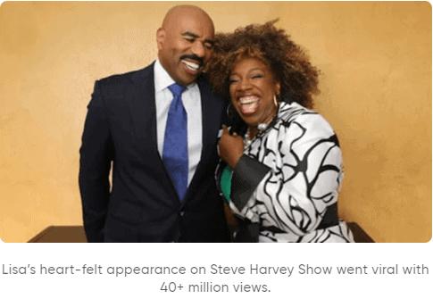 Lisa With Steve Harvey