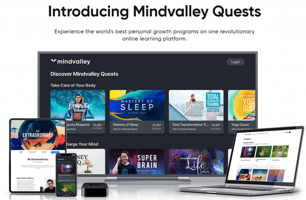 MindValley Quests