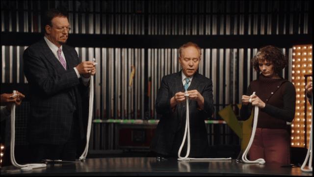 Penn and Teller Teaching Rope Magic