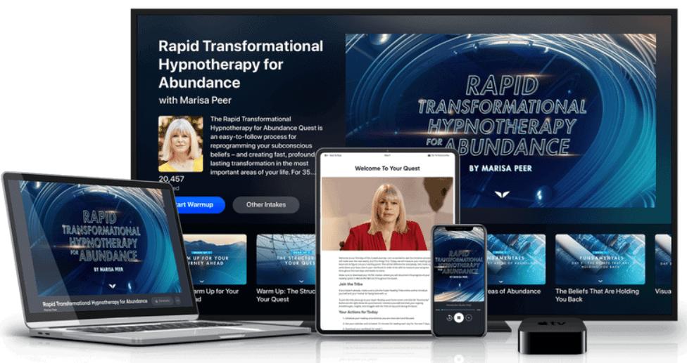 Rapid Transformational Hypnotherapy for Abundance - Marisa Peer