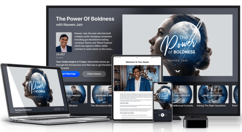 The Power Of Boldness With Naveen Jain
