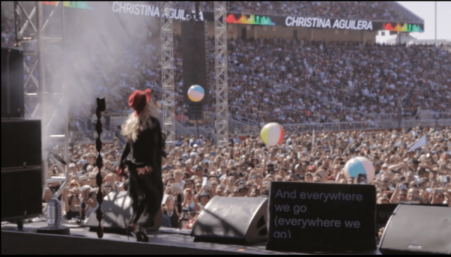 Christina In A Concert