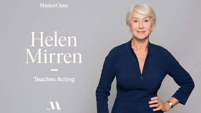 Helen Mirren MasterClass