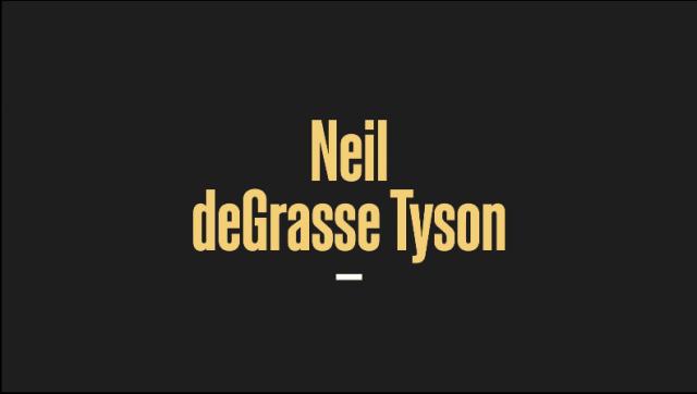Instructor-Neil deGrasse Tyson