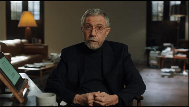 Paul Krugman Talks About Enrty Into Economics