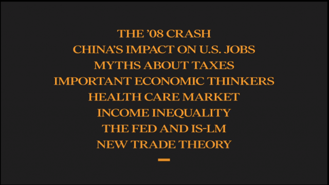 What you'll learn with Paul Krugman