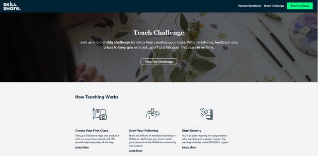 Anyone Can Teach On Skillshare