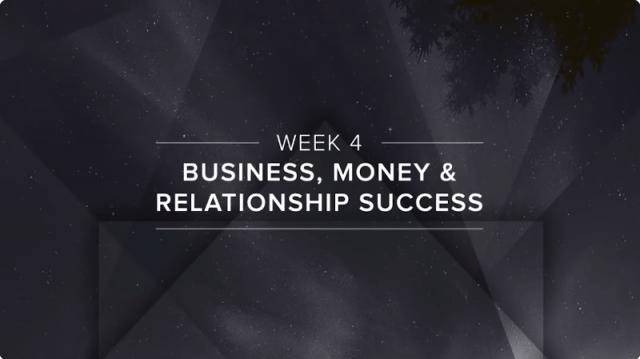 Business, Money & Relationship Success