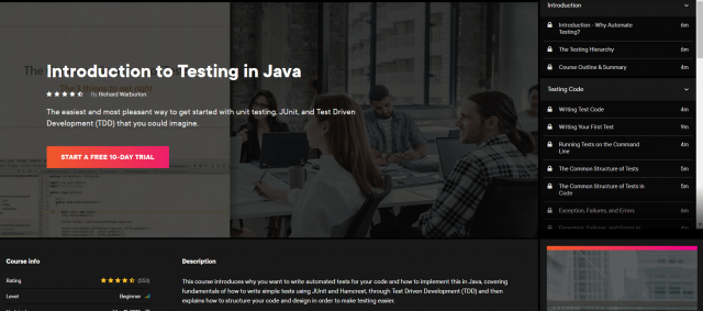 Introduction To Testing In Java