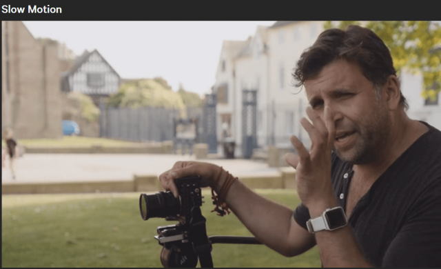 Lessons Of Philip Bloom's Cinematic MasterClass