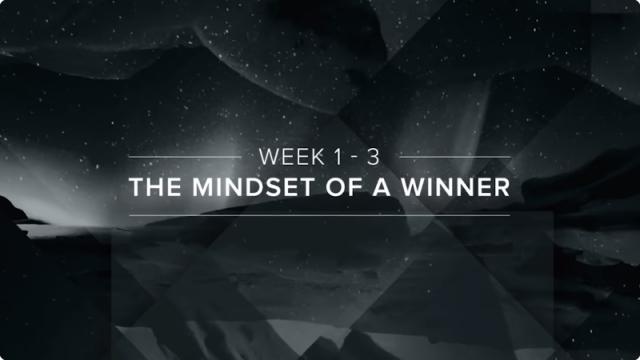 Mindset Of A Winner