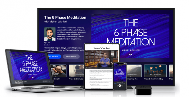 Mindvalley 6 Phase Meditation Review