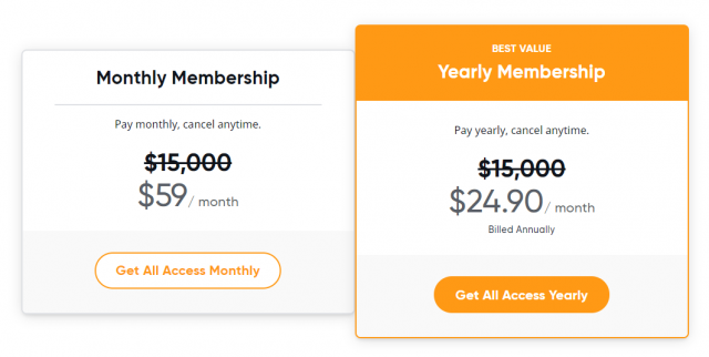 Mindvalley All Access Pricing