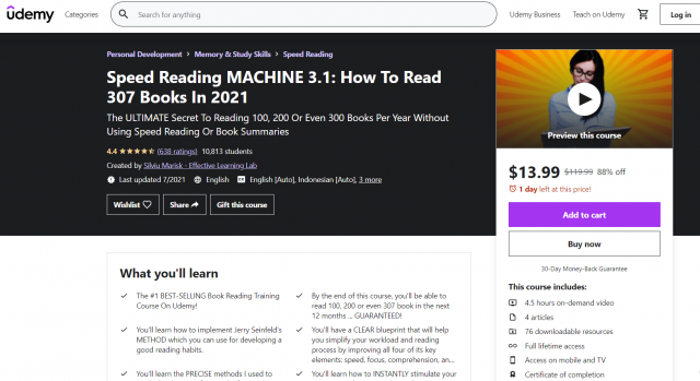 Speed Reading Machine