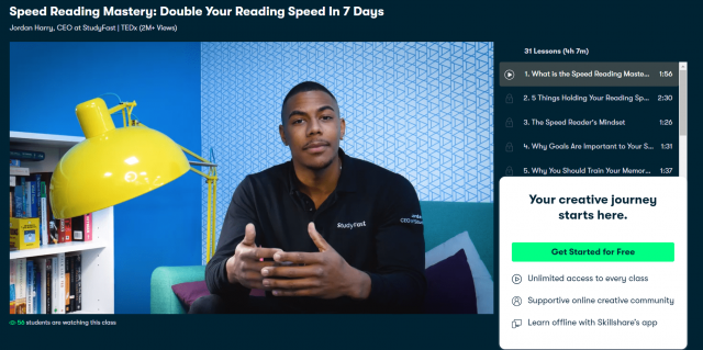 Speed Reading Mastery