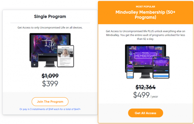 Uncompromised Life Course Pricing