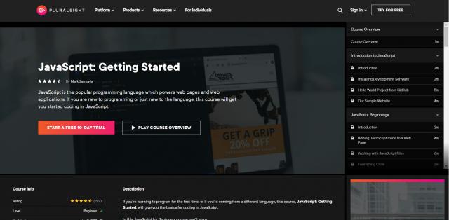 Javascript-Getting Started