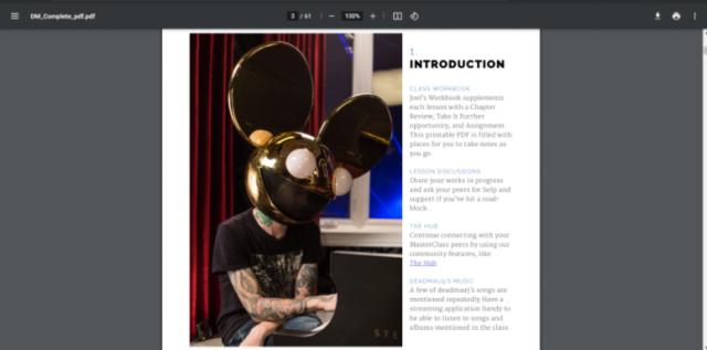 deadmau5 Introduction